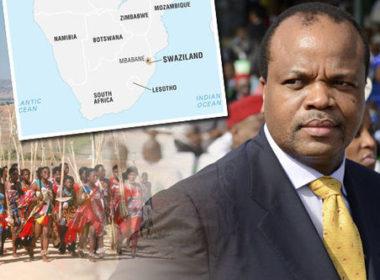 Swaziland eSwatini king Msati-III