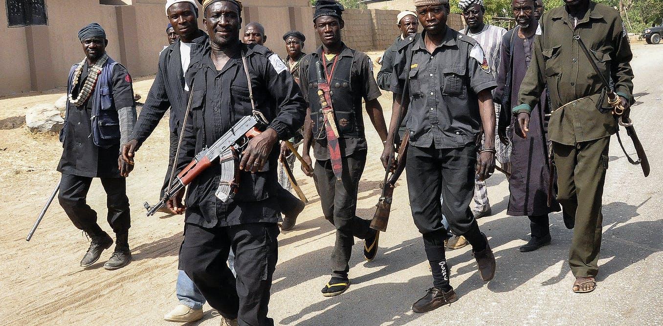 Local patrol in north east Nigeria