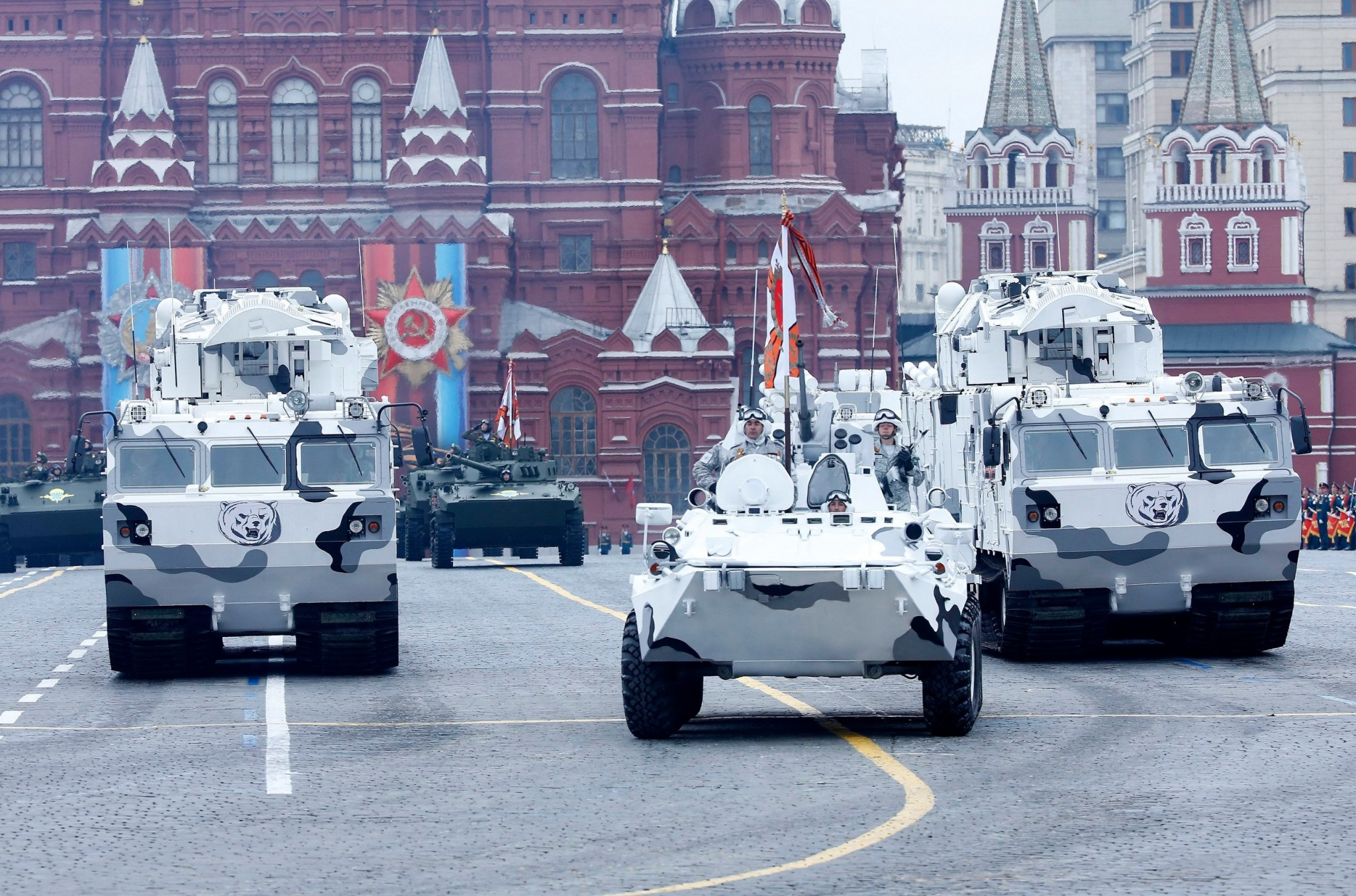 Russia's arctic military forces