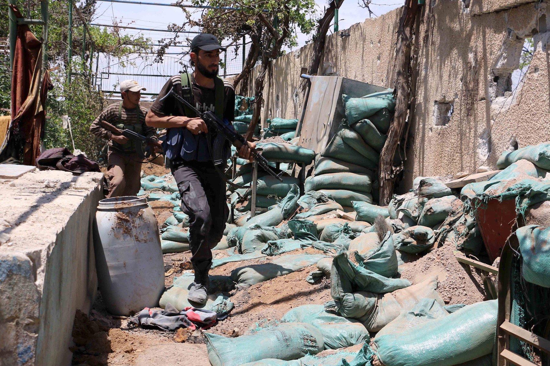 Jaish al-Islam fighters