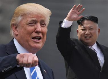 Trump meets Kim Jong-un