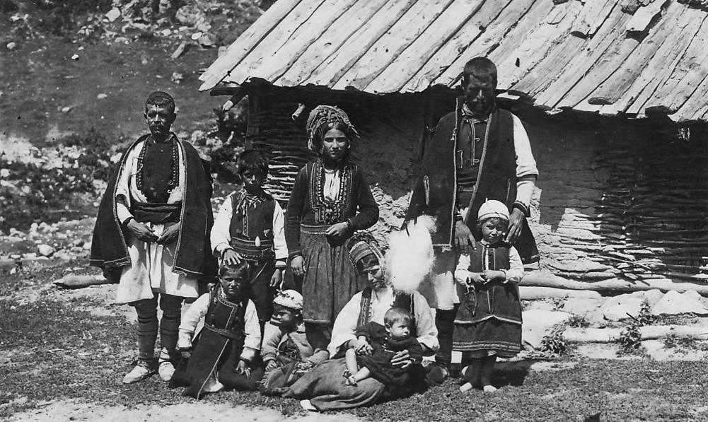 Aromanians in Pirin mountain Bulgaria 1930