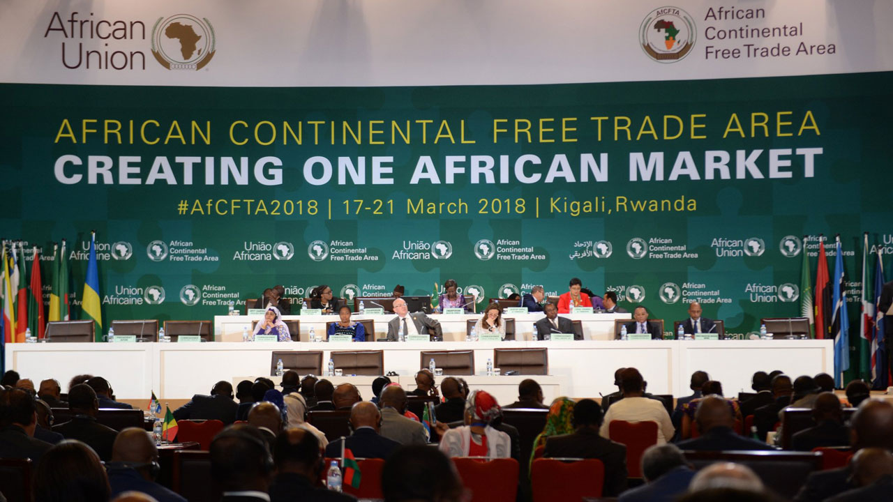 Continental Free Trade Area all across Africa