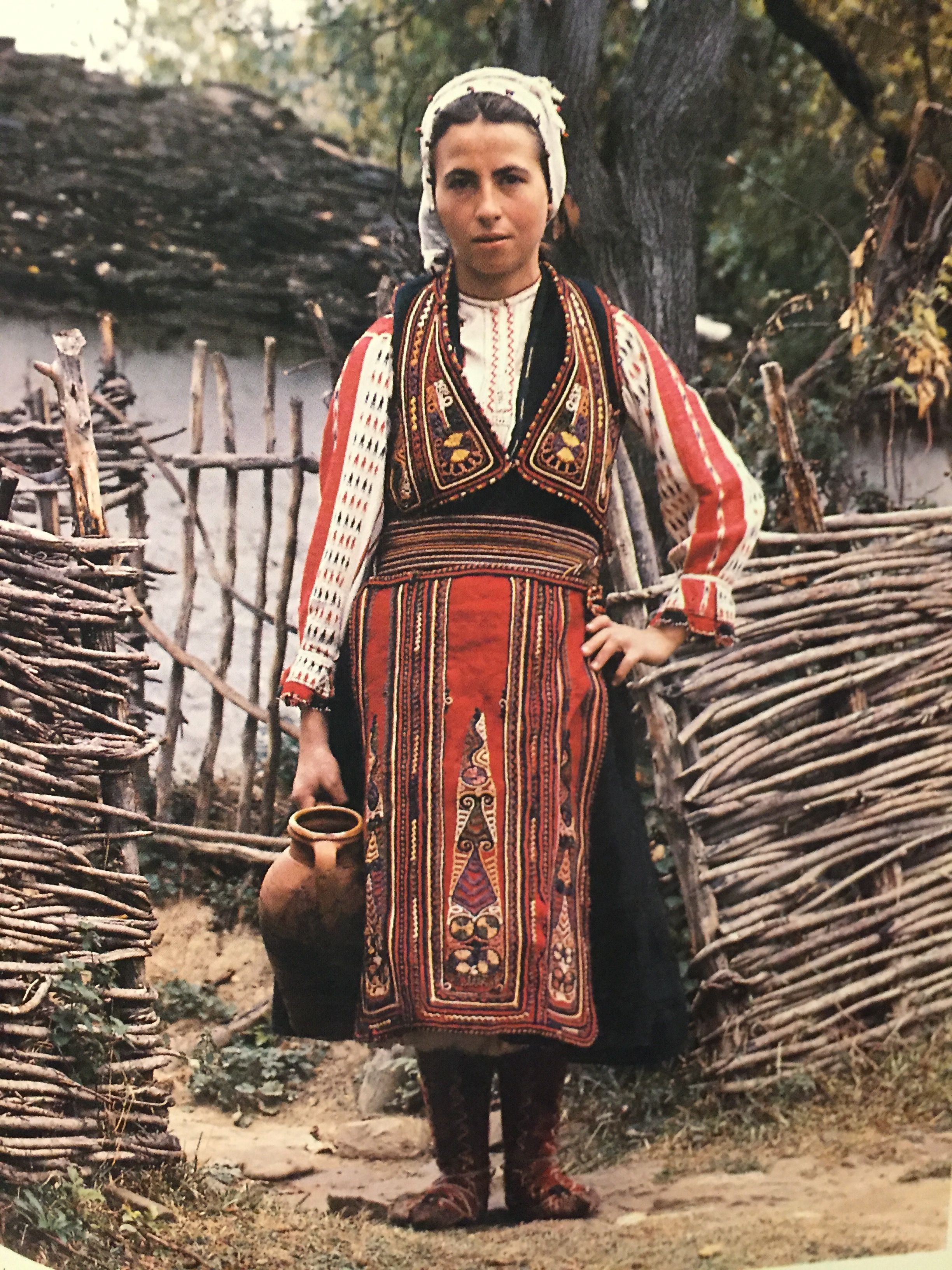 Vlach woman dress Vërtop Albania