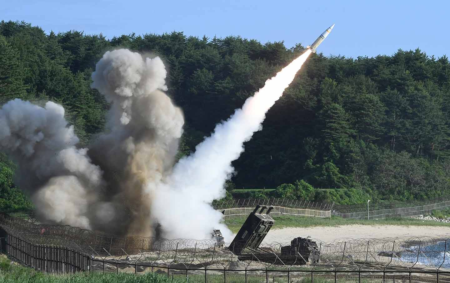 Tactical Missile is fired