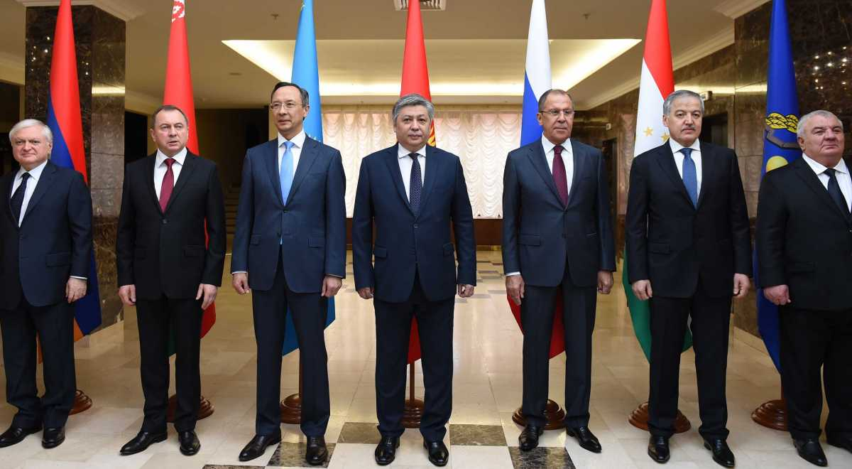 CSTO foreign ministers