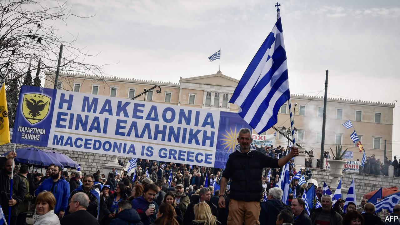 Macedina is Greece