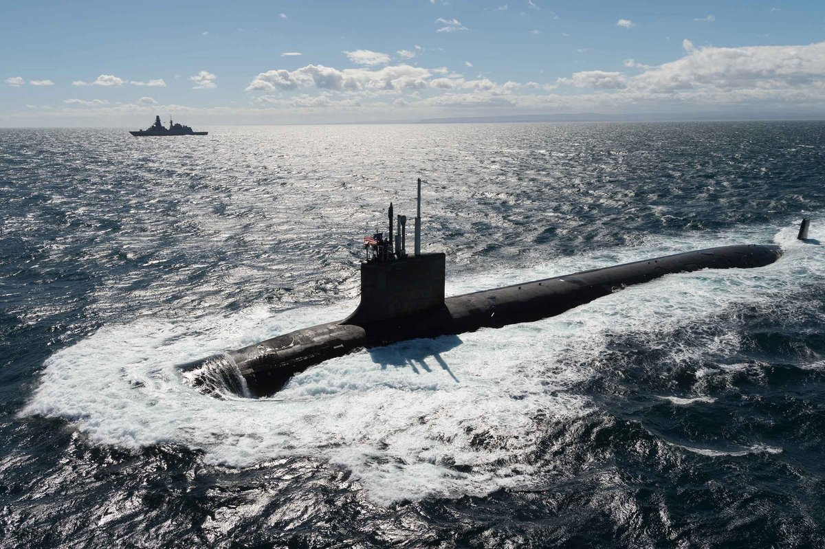 NATO's premier anti-submarine warfare exercise in the Mediterranean Sea
