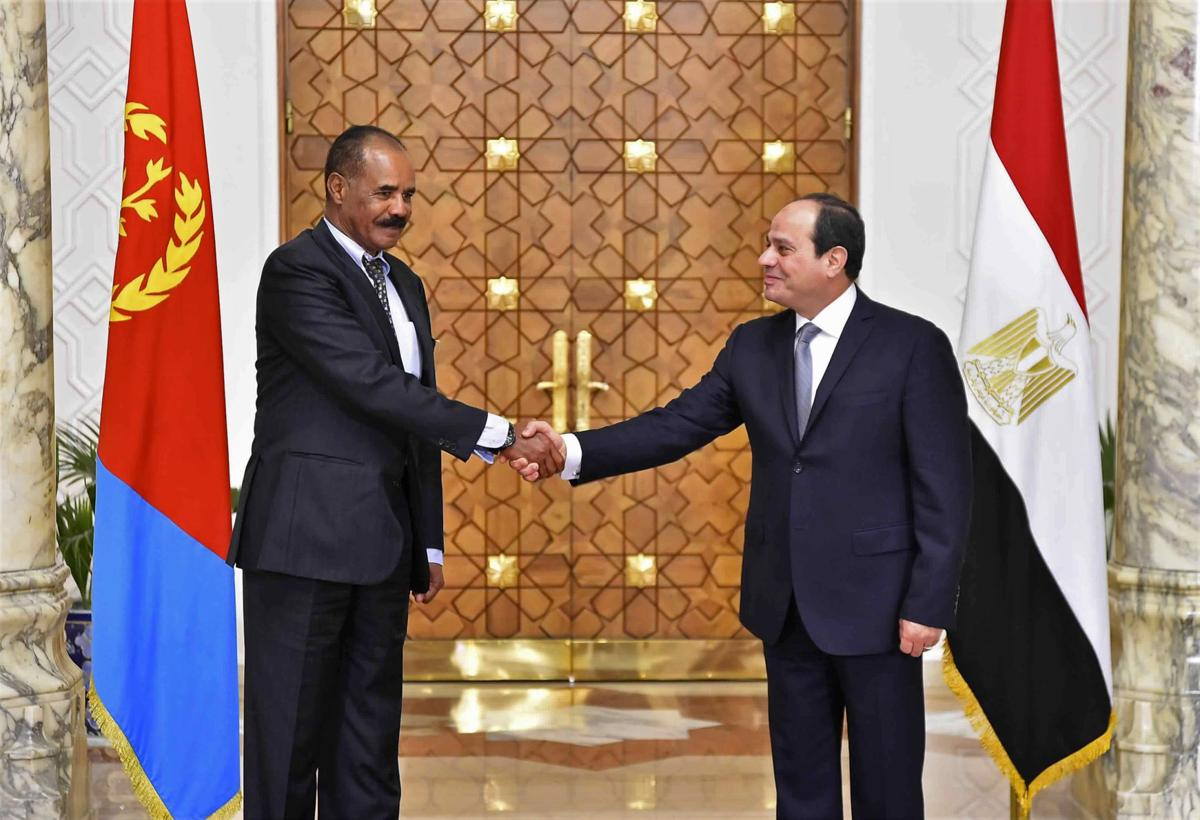 Regional rivals Eritrea and Egypt