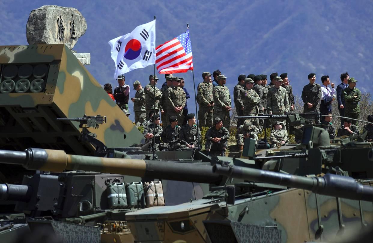 US-South Korean military drills