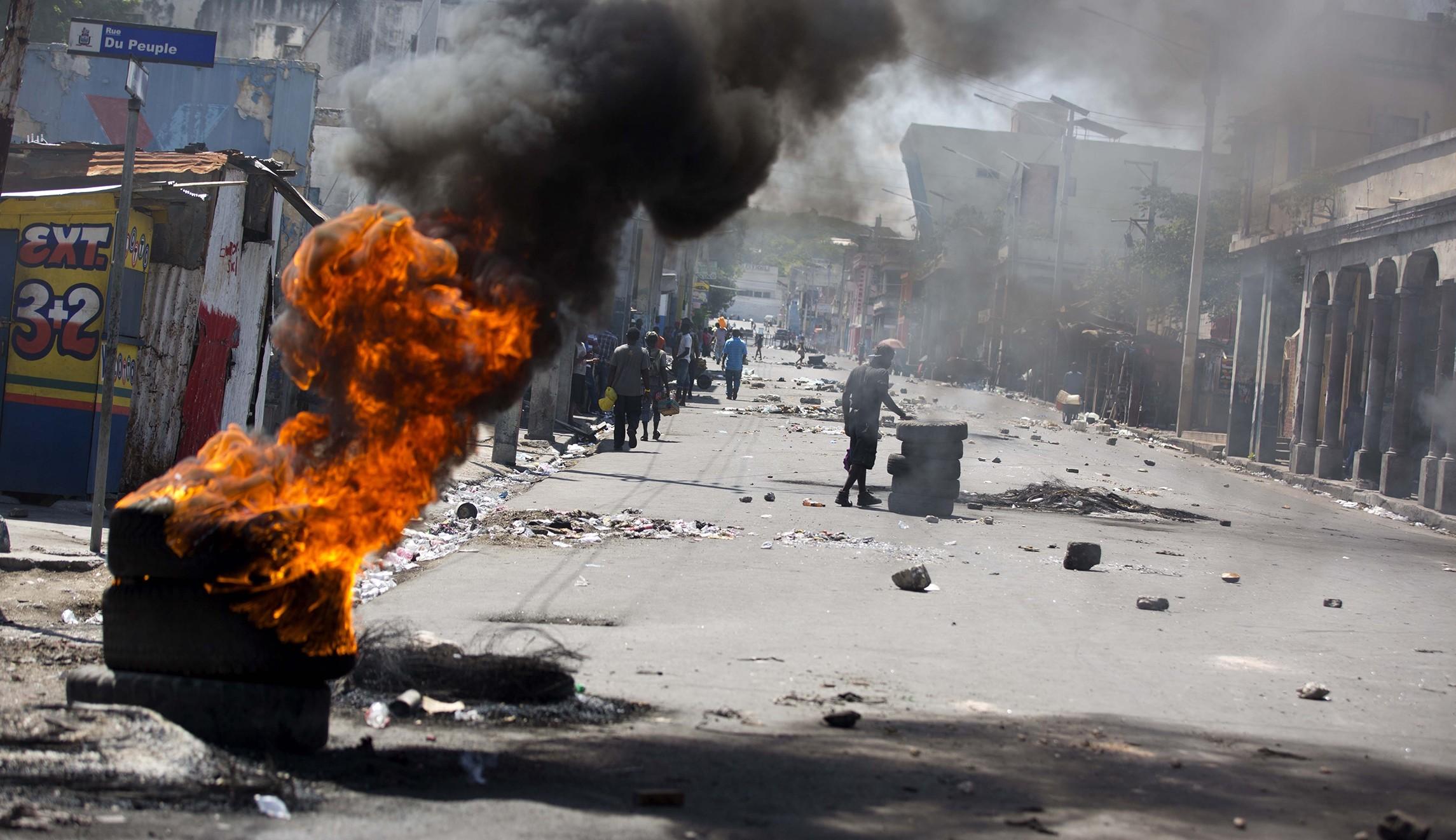 Haiti riots