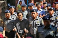 Jailed Reuters journalists