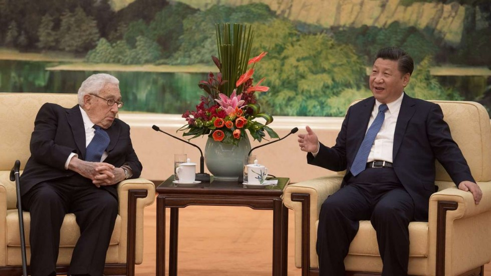 Kissinger and Xi Jinping