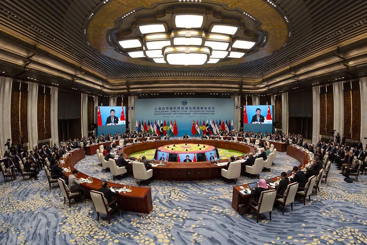 SCO summit 2018