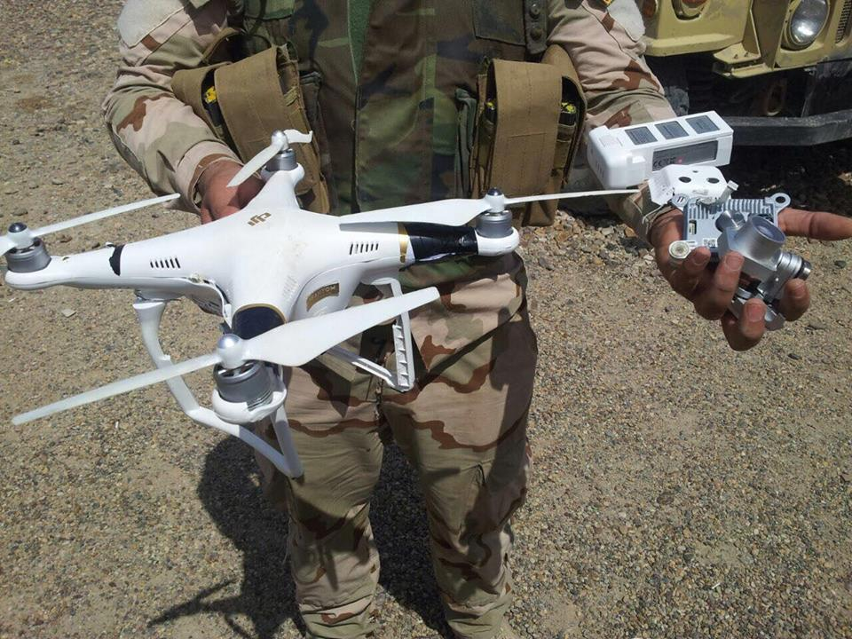 Daesh/IS drones