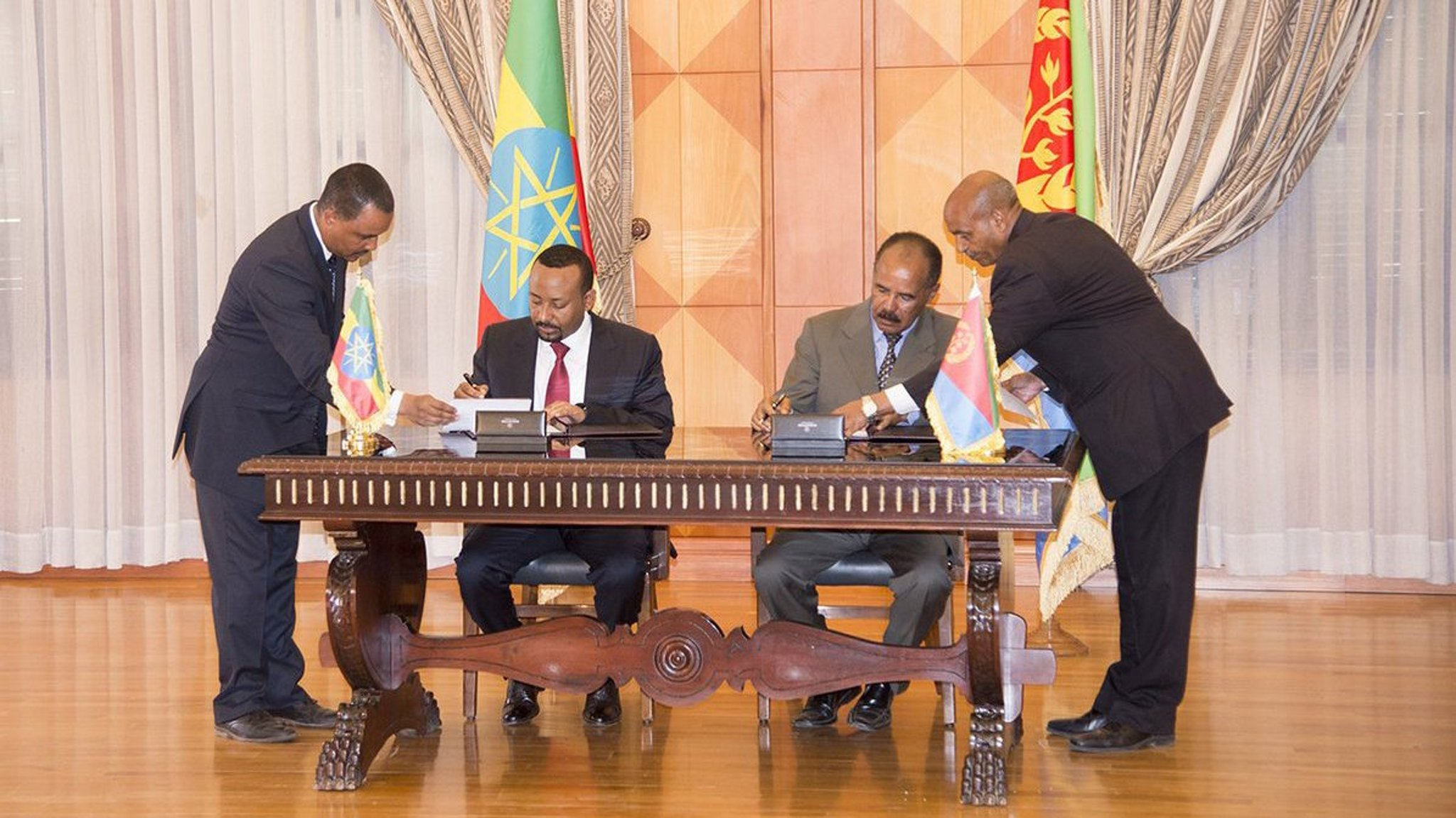 Ethiopia's Mediation Of The Eritrean-Djiboutian Dispute