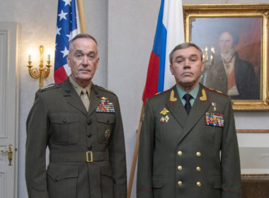 Gen. Joe Dunford and Gen. Valery Gerasimov