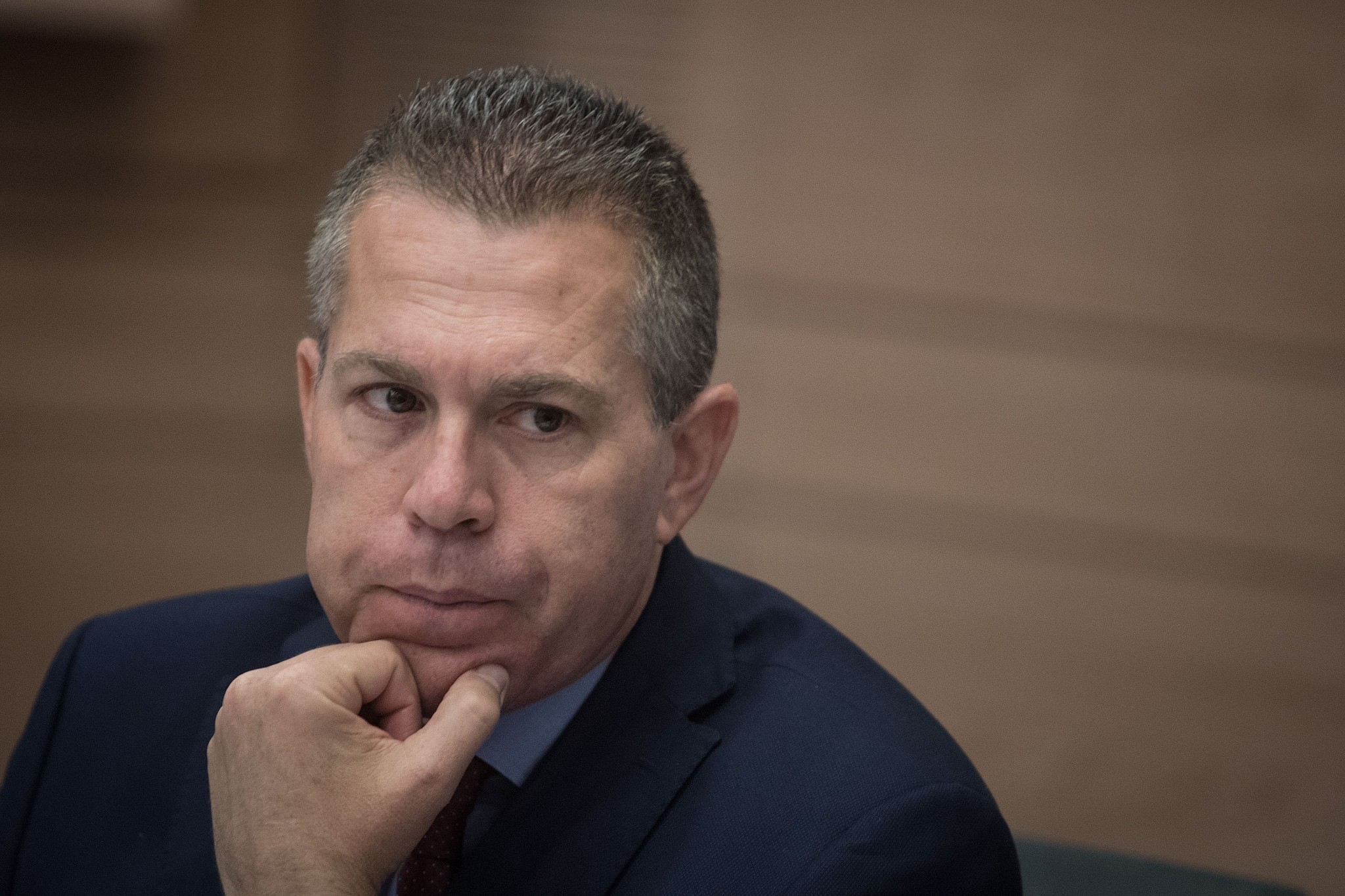Strategic Affairs Minister Gilad Erdan
