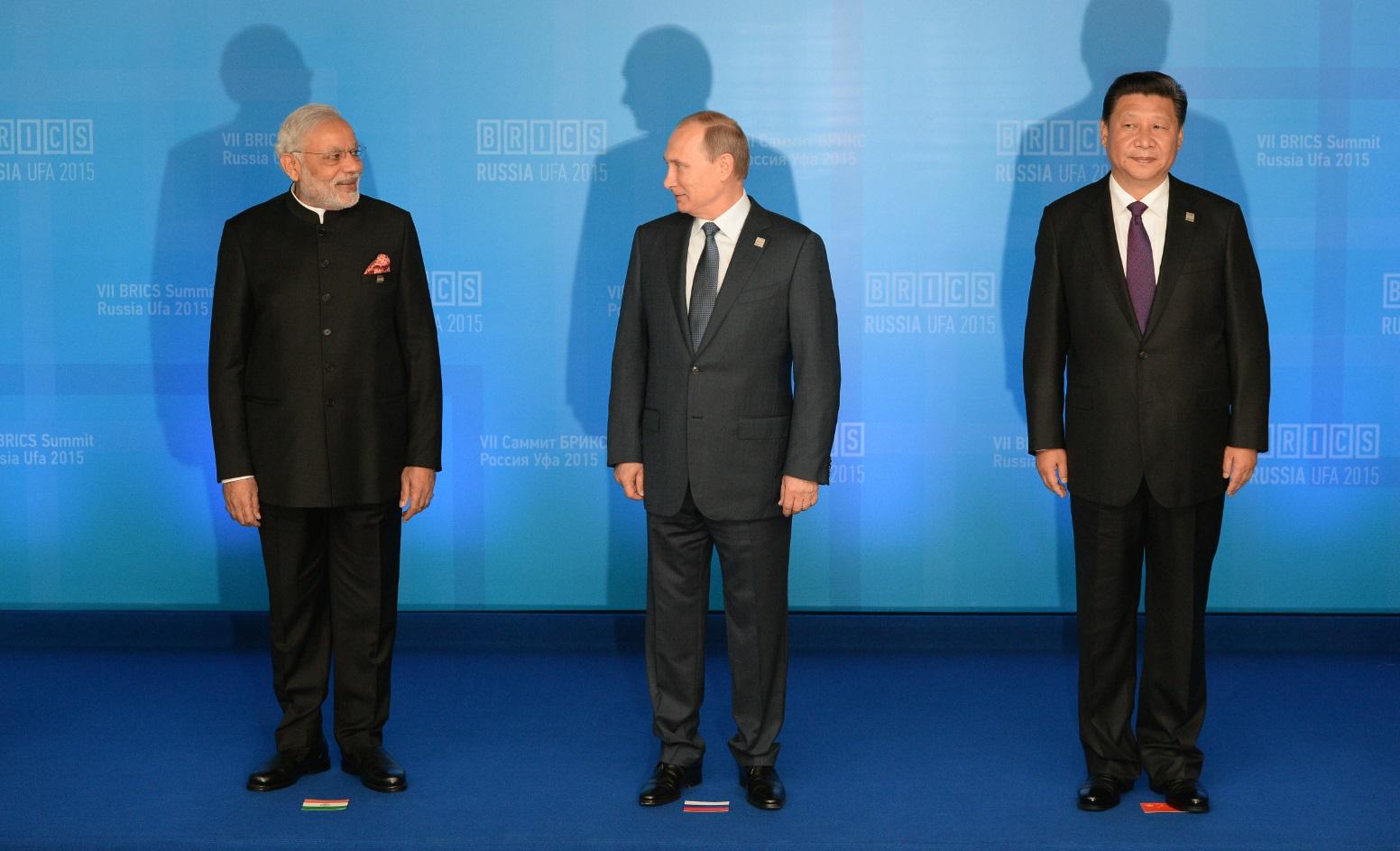 Modi Putin Xi Jinping