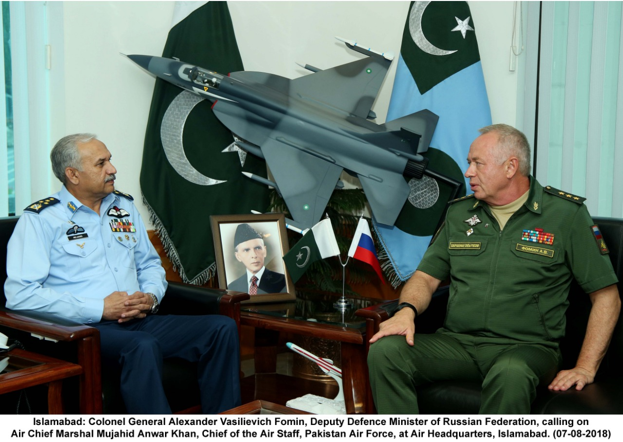 Russian Deputy Defense Minister went to Islamabad