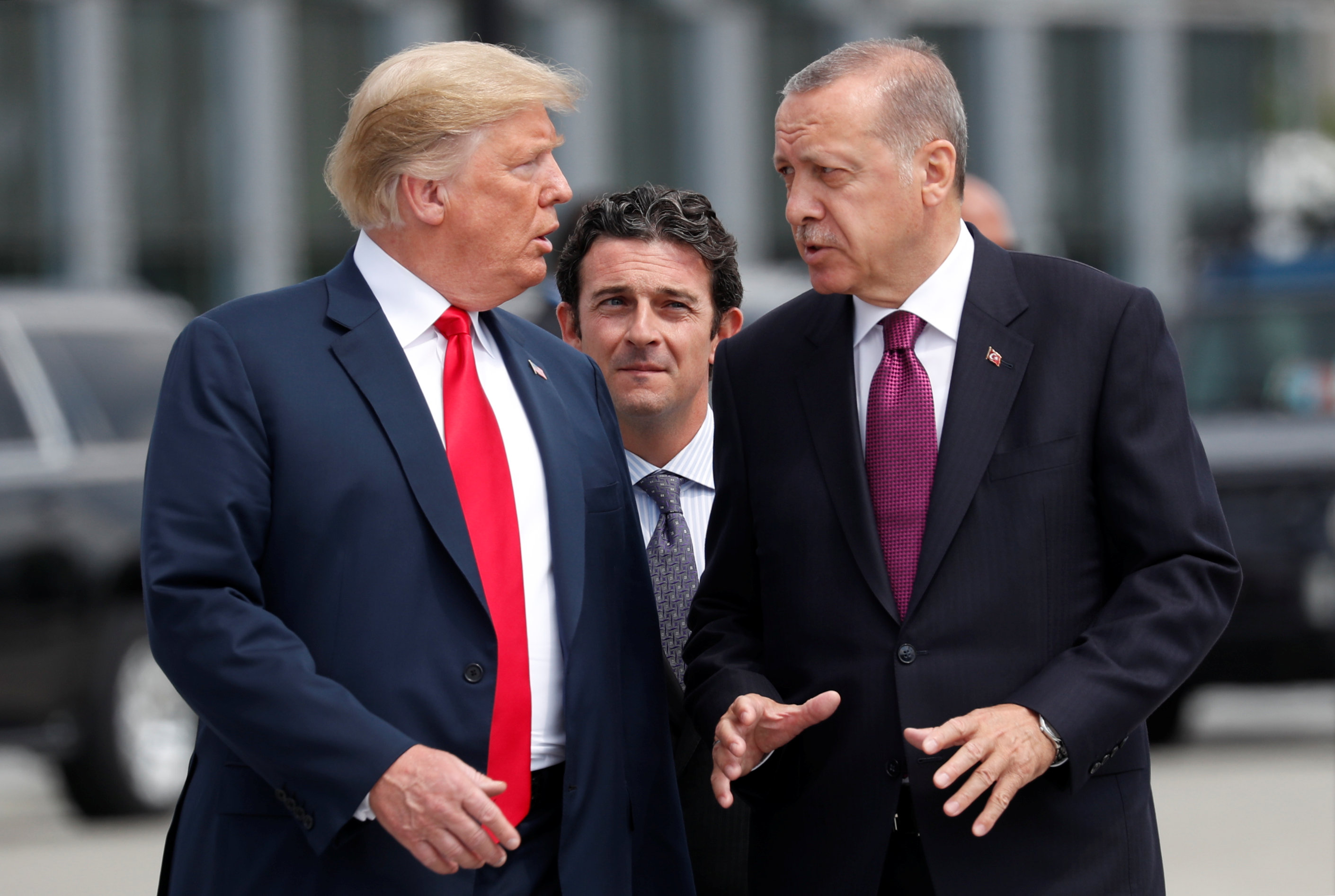 Trump-Erdogan talks