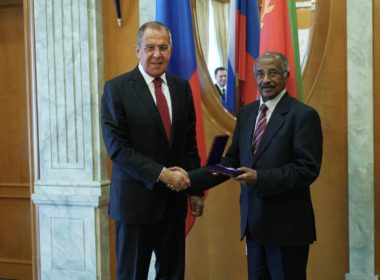 Lavrov Osman Saleh