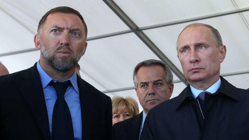 Oleg Deripaska Putin