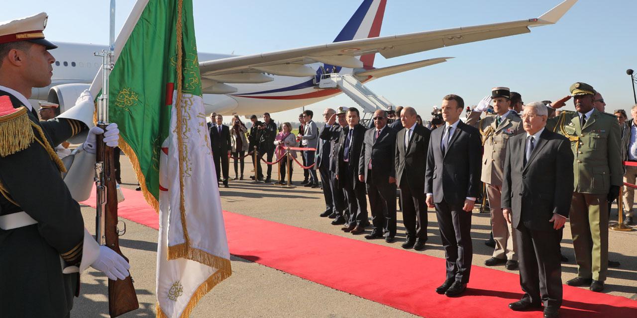 Macron in Algeria