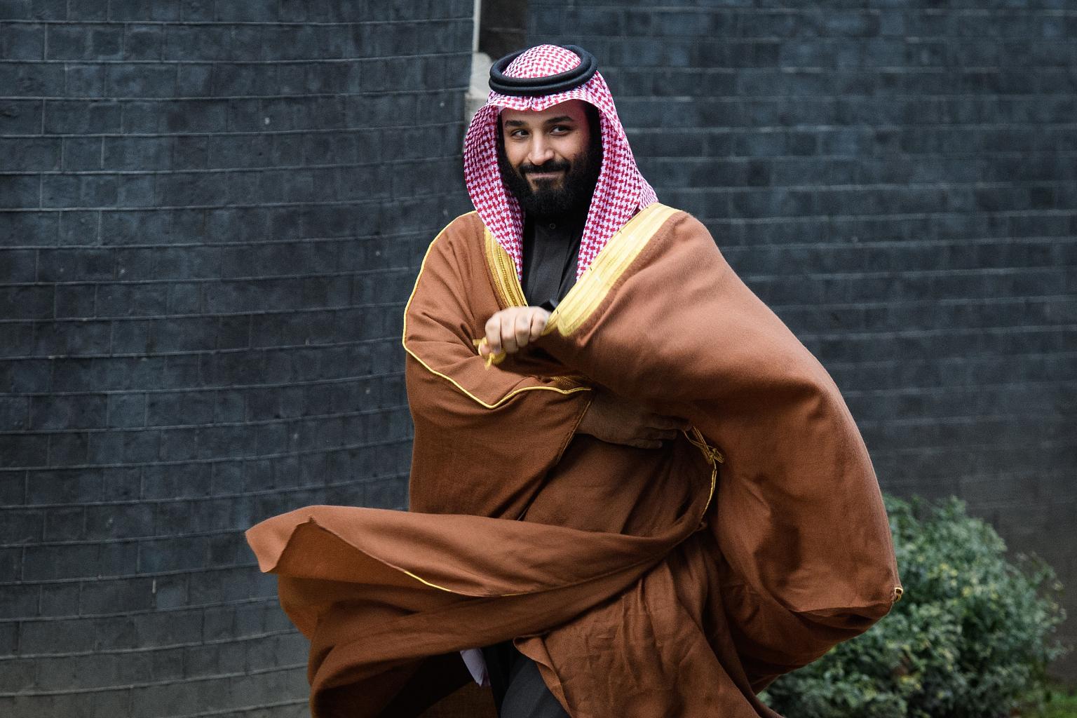 Mohammed Bin Salman in England