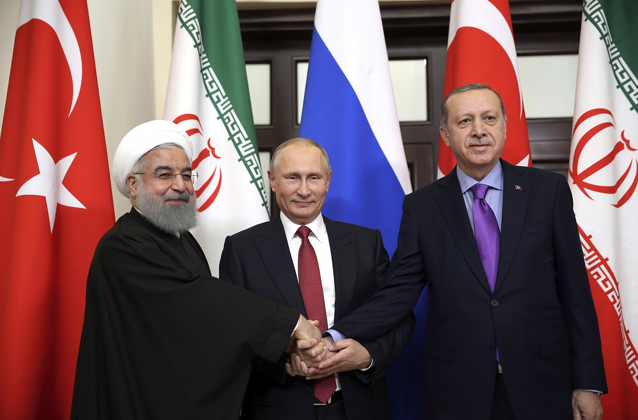 Tehran Summit on Syria September 2018