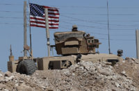 US observation posts along Syria's border