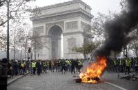 Paris on fire