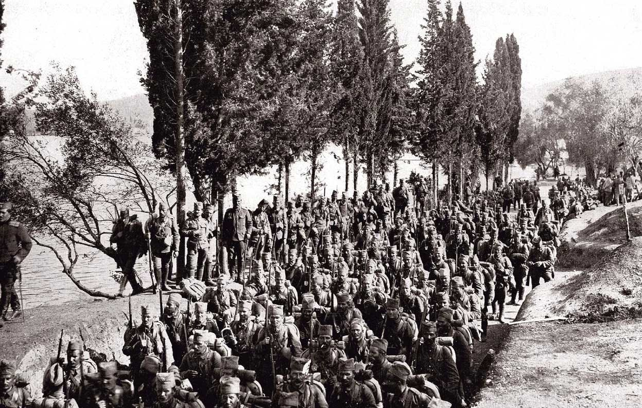 Remainder of Serbian Army arrives on Corfu