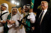 Trump and Saudies