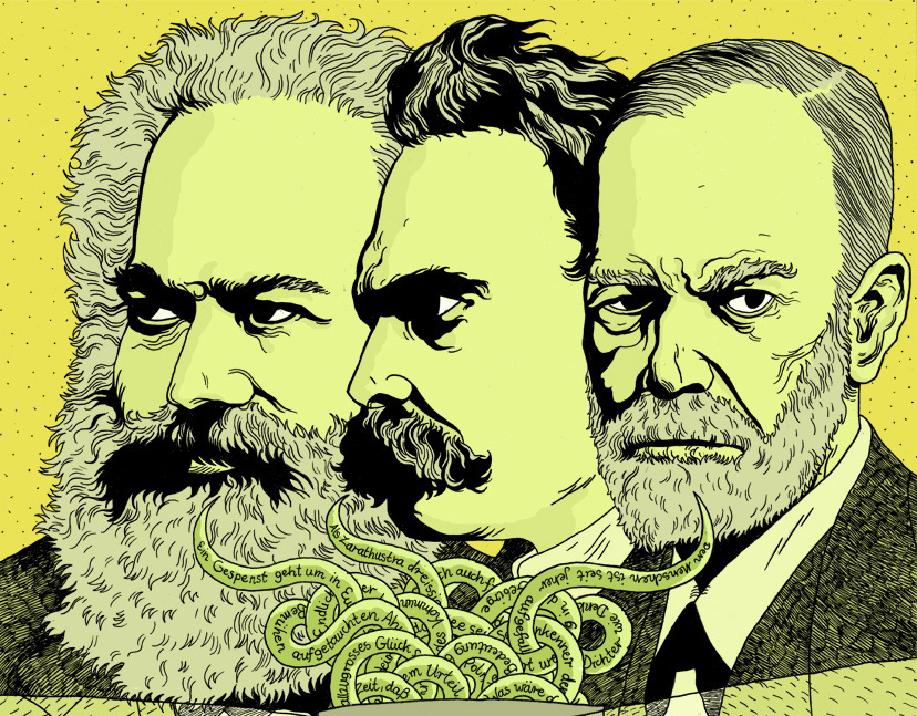masters_of_suspicion Freud, Nietzsche and Marx