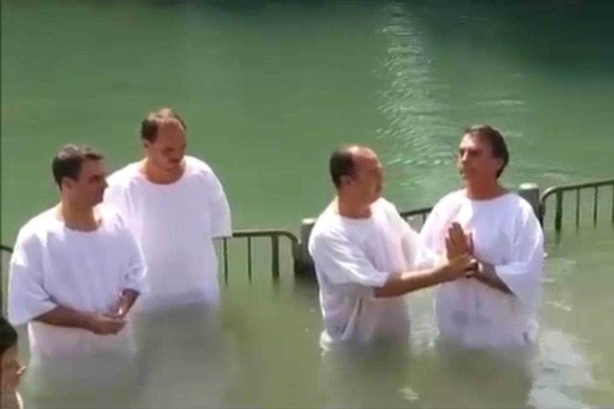 Baptism of Jair Bolsonaro