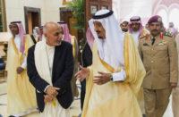 Ashraf Ghani Ahmadzai, Salman bin Abdulaziz Al Saud