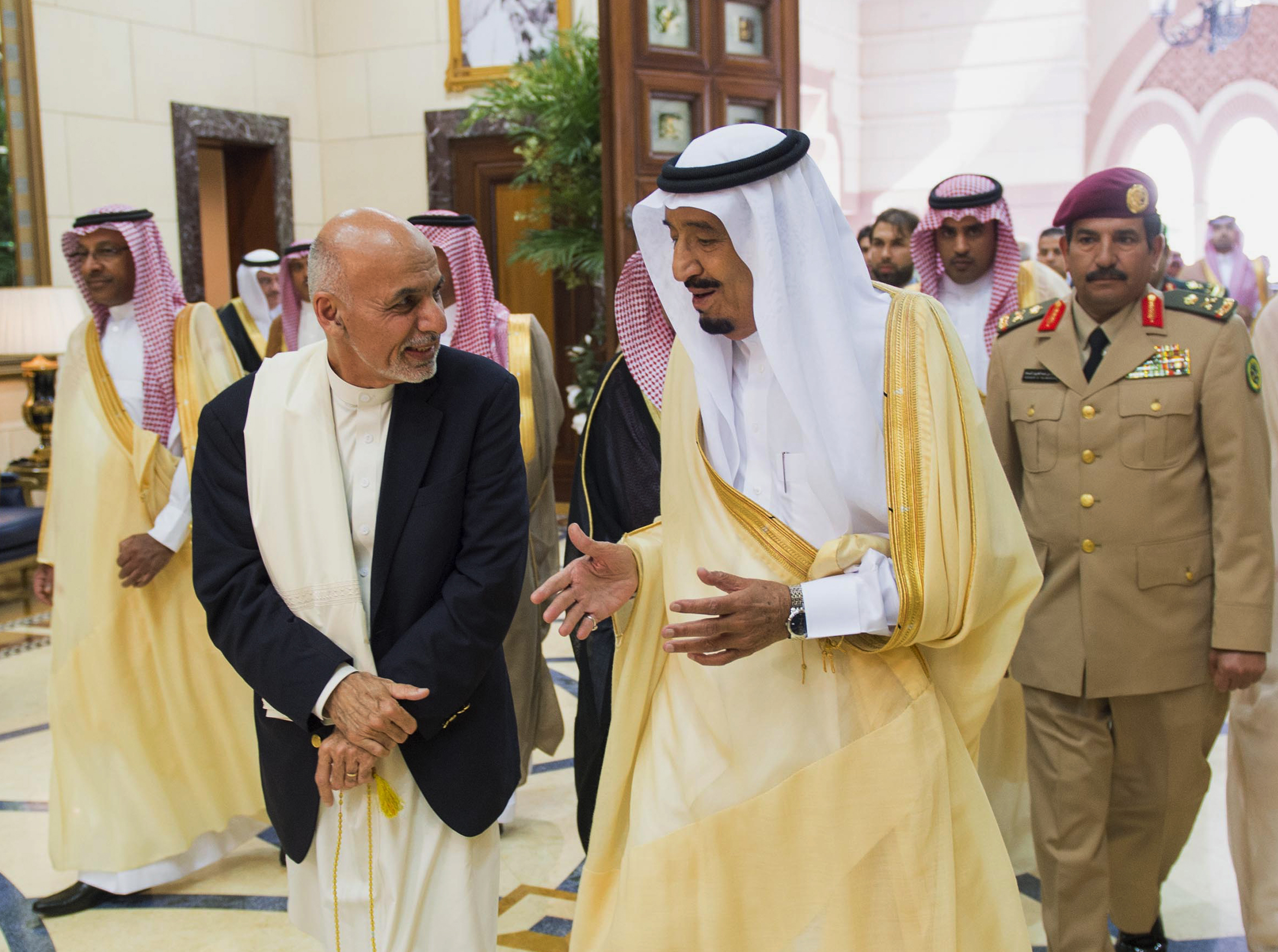 King Salman and President Ghani