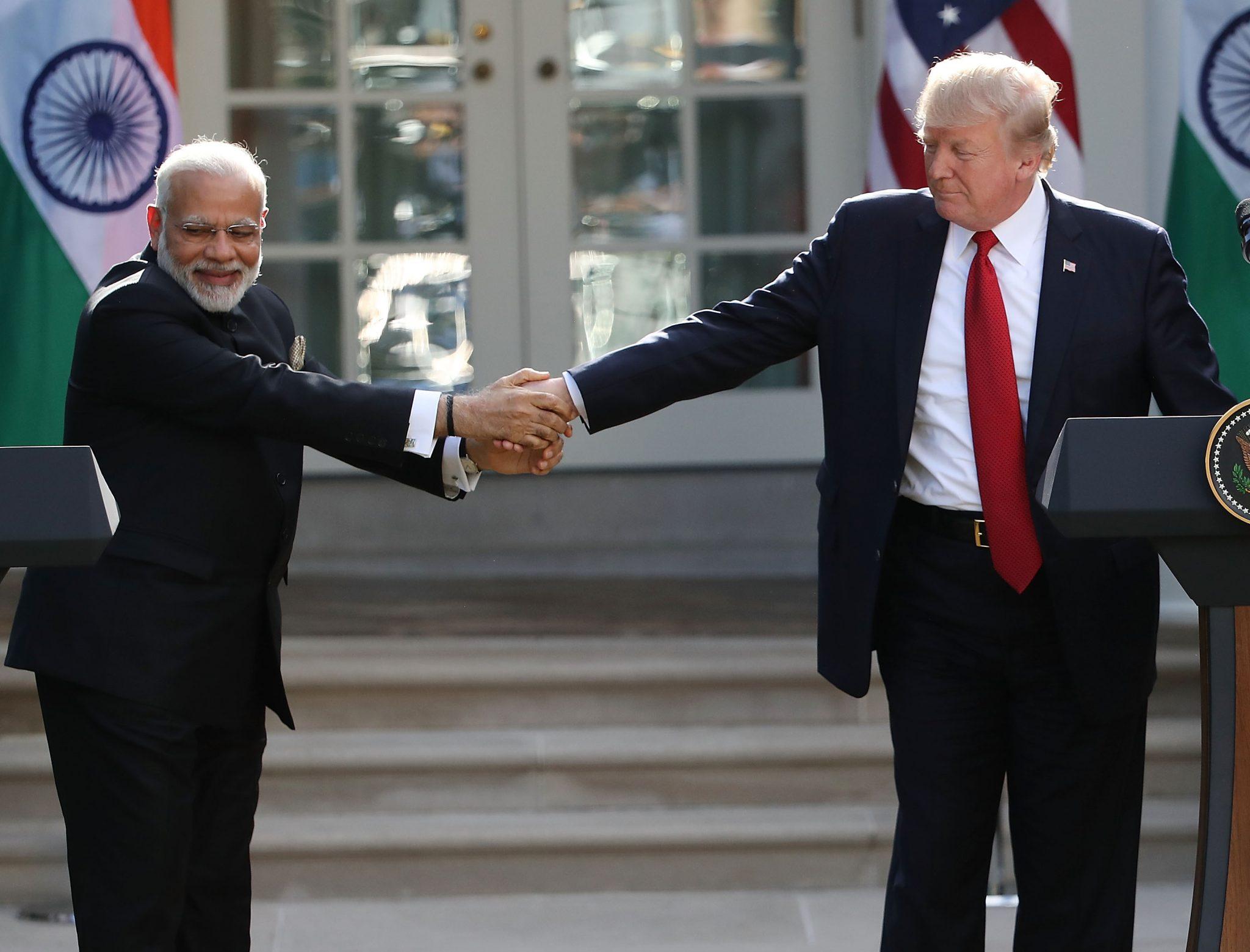 Modi-Trump Bromance