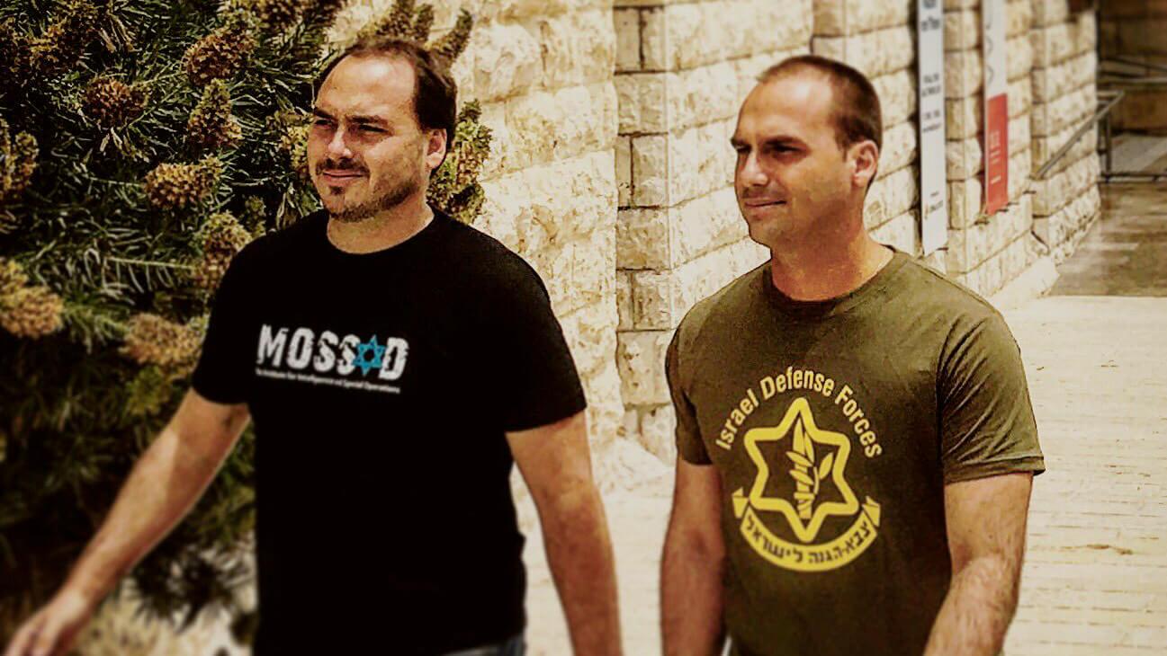 Sons of President Jair Bolsonaro