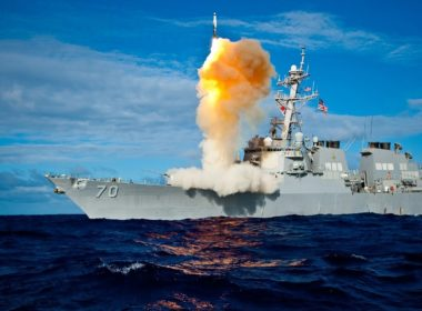 US Navy missile defence system