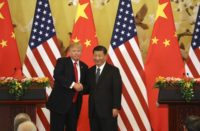 United States and China fight