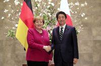 Angela Merkel, Shinzo Abe