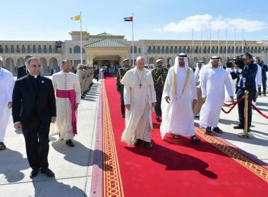 Pope Francis in UAE