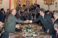 Gorbachev and Reagan