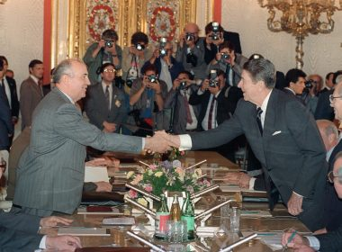 Gorbachev and Reagan