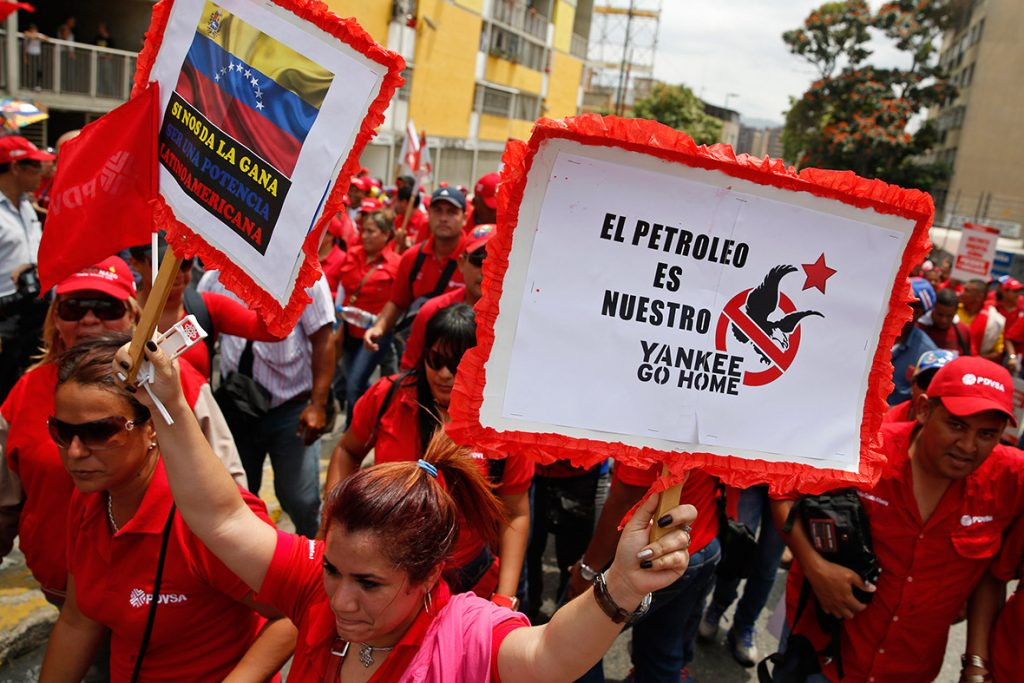 """Revolucion"" au Venezuela ? - Page 3 Venezuela-anti-us-1024x683"