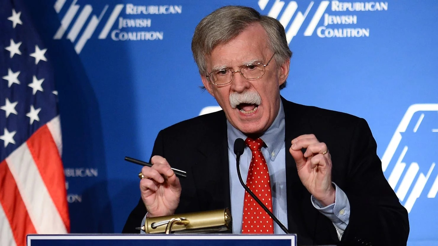 Bolton US coalition against Venezuela