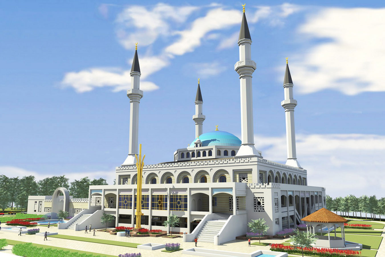 Central Mosque in Crimea