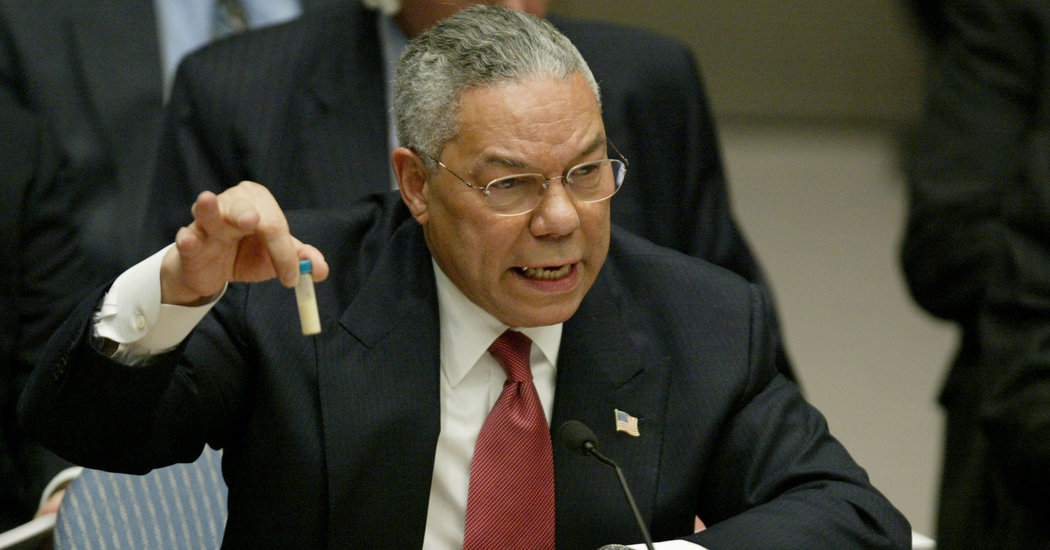 Colin Powell in UNSC